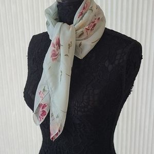 Spring Flowers Square Scarf